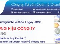 Hội thảo: PHÁT TRIỂN THƯƠNG HIỆU CÔNG TY. Tổ chức ngày 02/11/2019 tại VCCI Đà Nẵng.