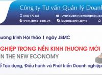 Hội thảo: LÀM CHỦ DOANH NGHIỆP TRONG NỀN KINH THƯƠNG MỚI. Tổ chức ngày 17/11/2019 tại VCCI Đà Nẵng.