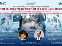 Hội thảo: THIẾT KẾ, QUẢN TRỊ ĐỘI NGŨ THIẾT KẾ & ĐIỀU HÀNH STUDIO. Tổ chức tháng 6/2020 tại VCCI Đà Nẵng.