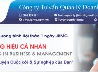 Hội thảo: PHÁT TRIỂN THƯƠNG HIỆU CÁ NHÂN. Tổ chức ngày 03/11/2019 tại VCCI Đà Nẵng