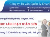 Hội thảo: PHÁT TRIỂN NĂNG LỰC LÃNH ĐẠO TOÀN DIỆN. Tổ chức ngày 24/11/2019 tại VCCI Đà Nẵng