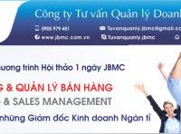Hội thảo: BÍ QUYẾT BÁN HÀNG & QUẢN LÝ BÁN HÀNG. Tổ chức ngày 01/12/2019 tại VCCI Đà Nẵng