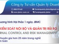 Hội thảo: KIỂM TOÁN NỘI BỘ, KIỂM SOÁT NỘI BỘ VÀ QUẢN TRỊ RỦI RO. Tổ chức ngày 23/11/2019 tại VCCI Đà Nẵng.