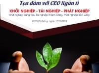 Tọa đàm với CEO Ngàn tỉ - 17/11/2018