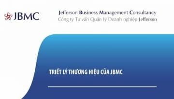 Video - Triết lý Thương hiệu của JBMC