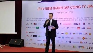 Video - Phát biểu của Chủ tịch kiêm Giám đốc JBMC