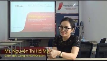 Video-Nhận xét-Nguyễn Thị Hà My-khóa Marketing JBMC