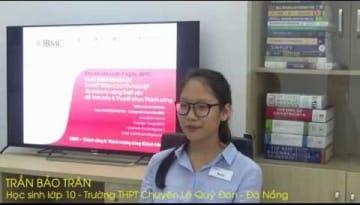 Video-Nhận xét-Trần Bảo Trân-khóa Thuyết trình JBMC