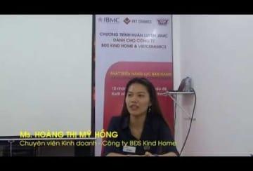 Video-Nhận xét-HOÀNG THỊ MỸ HỒNG-Chuyên viên Kinh doanh BĐS KIND HOME