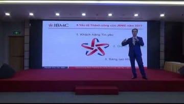 Party BIG EVENT 50 JBMC-Phat bieu Chu tich HĐQT-Nguyen Phu Tan-30-12-17