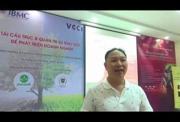 Video-Nhận xét-Mr NGÔ ĐÀO TRANG – Giám đốc Nhân sự – PGT Group