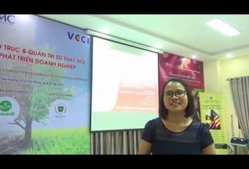 Video – Nhận xét - Ms LÊ THỊ HUYỀN TRANG – Chuyên viên - VCCI Đà Nẵng