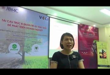 Video – Nhận xét - Ms. HỒ THANH THỦY - Phó Tổng Giám Đốc - Công ty Cổ phần 28 Đà Nẵng