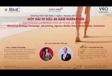 Clip-Got hai in dau 40 nam Marketing JBMC-Hoa Ky-2019.11.16