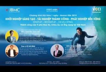 Clip-Khoi nghiep, Tai nghiep, Phat nghiep JBMC-Hoa Ky-2019.11.23
