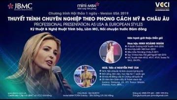 Clip-Thuyet trinh Chuyen nghiep theo Phong cach My & Chau Au JBMC-2019.10.06