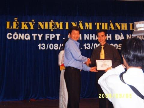 Thành tích & Giải thưởng của Thạc sĩ NGUYỄN PHÚ TÂN