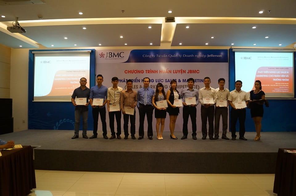 Khóa huấn luyện Sales & Marketing JBMC-29-11-15