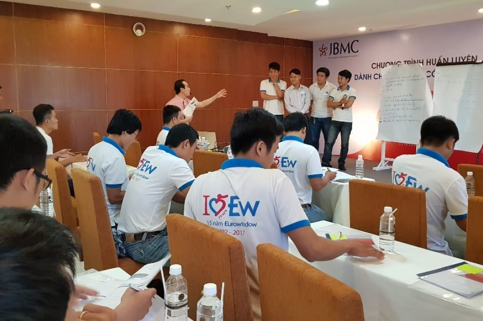 Corporate Training - EUROWINDOW - Năng lực Bán hàng - Khóa 09 - 13-08-17