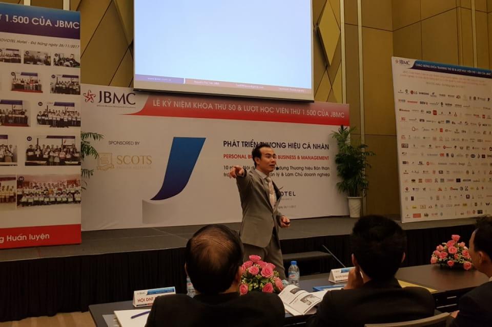 Phát triển Thương hiệu Cá nhân JBMC - NOVOTEL - Khóa 1 - 2017.11.26