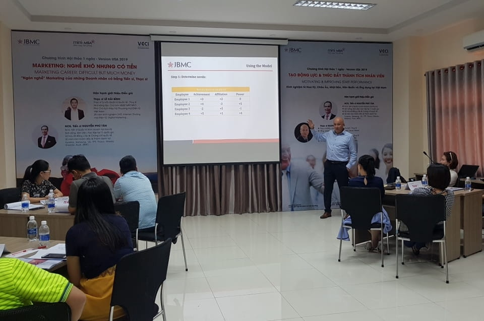 Tạo động lực Nhân viên - Khóa 1 - Mini-MBA JBMC-2019.10.27
