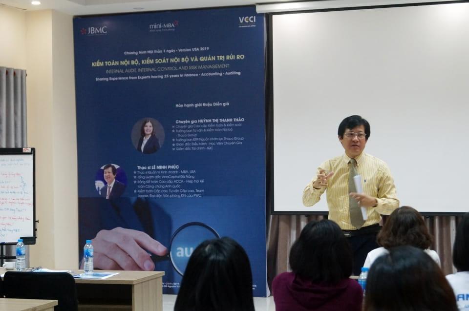 Kiểm toán Nội bộ - Khóa 1 - Mini-MBA JBMC-2019.11.23