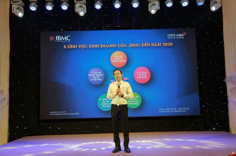 Event - Khát vọng Tiên phong - Mini-MBA JBMC-2019.10.06